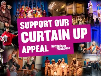 Curtain Up: Our New Fundraising Appeal