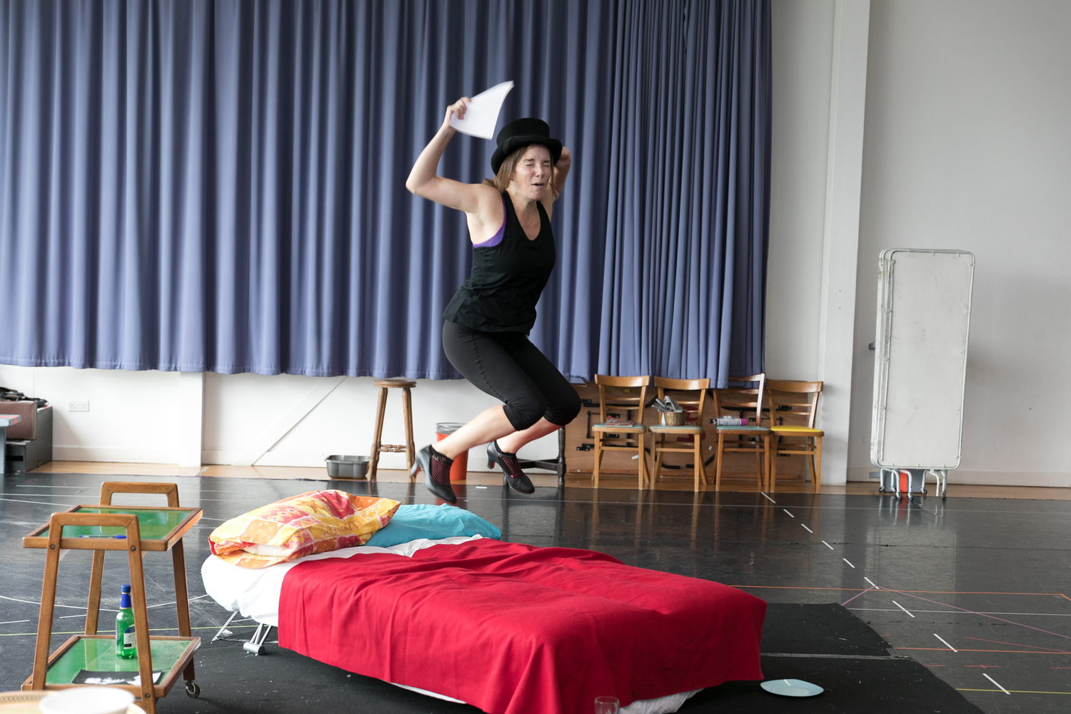 Sweet Charity in Rehearsal, photography by Darren Bell