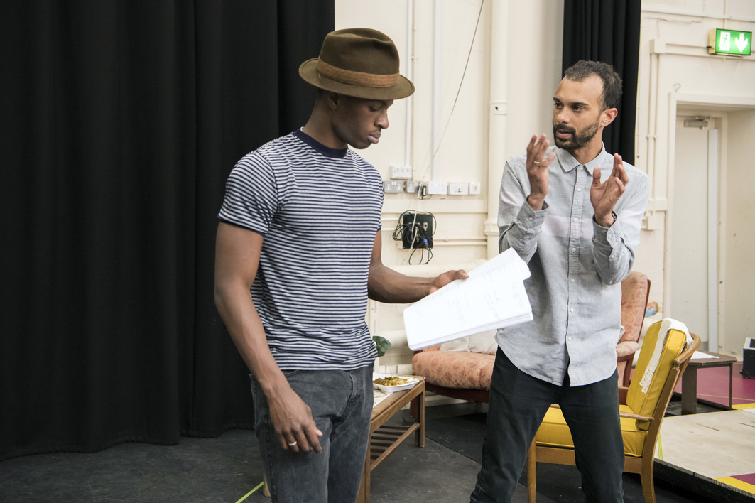 Shebeen in Rehearsal, photography by Richard Hubert Smith