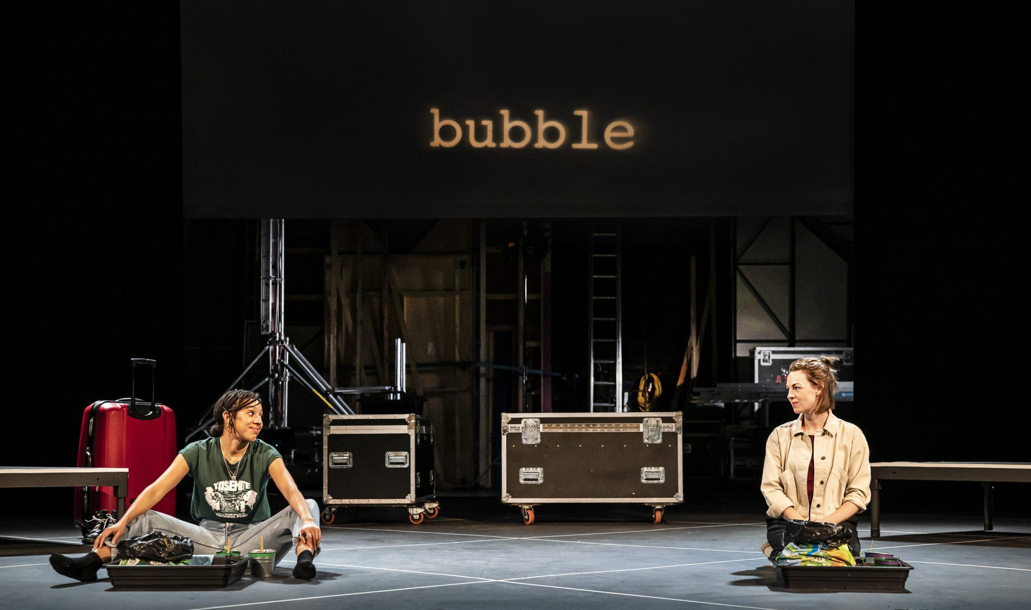 Bubble starring Pearl Mackie and Jessica Raine. Photo Credit: Pamela Raith