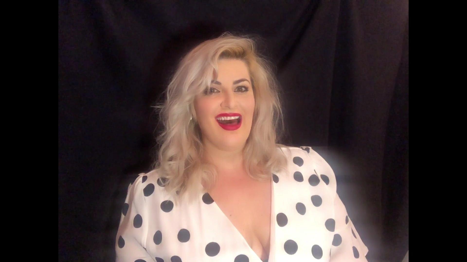 Jodie Prenger joins via video link