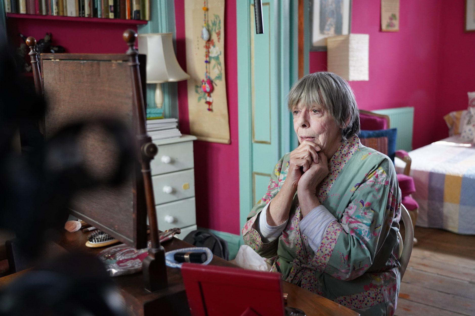 Frances de la Tour in Alan Bennett's Muriel (photography by Fraser Youngson)